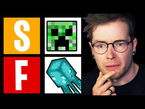 I Ranked EVERY Minecraft Mob (Tier List)