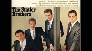The Statler Brothers - The Whiffenpoof Song 1966 (Yale University)
