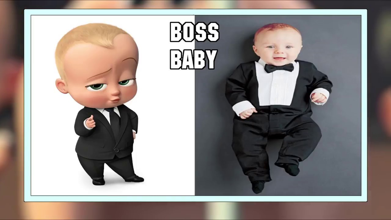 The Boss Baby Characters In Real Life