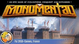 Monumental — game preview at FIJ 2018 in Cannes