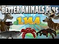 MINECRAFT MOD BETTER ANIMAL PLUS 1.14.4 ANIMALES ÉPICOS