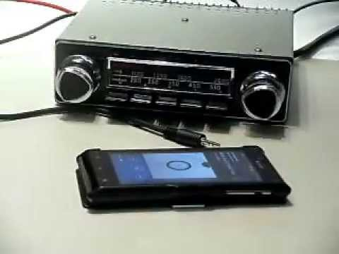 classic car radio motorola bluetooth upgrade dasom youtube. Black Bedroom Furniture Sets. Home Design Ideas