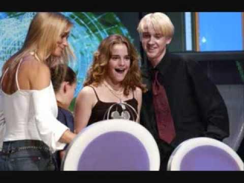 Tom Felton and Emma Watson - crush on Draco & Best friends.