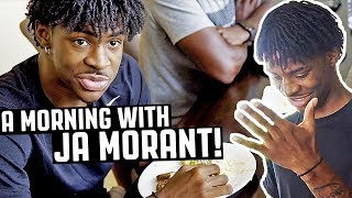 JA MORANT REVEALS HIS MORNING ROUTINE!
