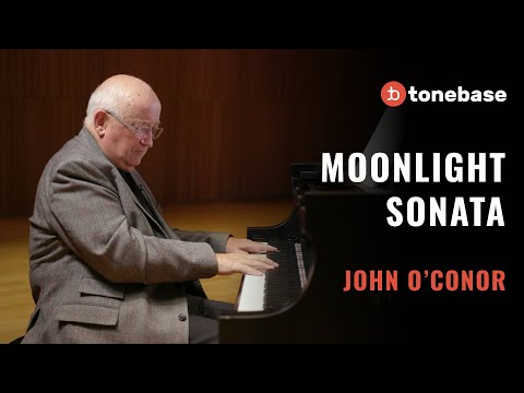 John O'Conor - Moonlight Sonata, Mvt. I (Performance)