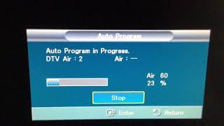 How to connect an Over The Air DTV Antenna to a TV (Mohu Leaf Version)