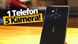 5 Arka Kameralı Telefon Nokia 9 PureView Kutudan Çıkıyor!