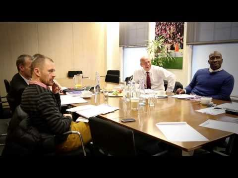 Judging the Football League Awards 2014