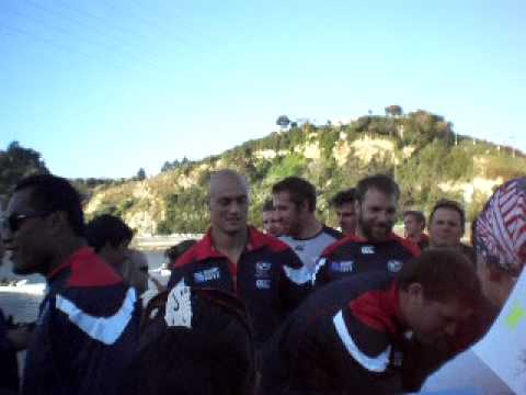 USA Rugby World Cup Team in Wanganui