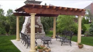 Беседки барбекю(Видео-блог о дизайне, архитектуре и стиле. Идеи для тех кто обустраивает свой дом, квартиру, дачу, садовый..., 2013-09-27T11:36:09.000Z)