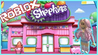 SHOPKINS FACTORY !!! ROBLOX TYCOON GAME LET'S PLAY VIDEO // ToysGamesVideos