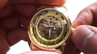 Механические наручные часы(Продавец часов: https://goo.gl/deHbly ➤ Скидки до 20% при заказах в Интернет магазинах: https://goo.gl/l7JOZI На GearBest: https://goo.gl/iuqWJ9..., 2014-08-03T11:19:01.000Z)