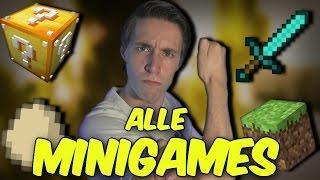 ALLE MINIGAMES!