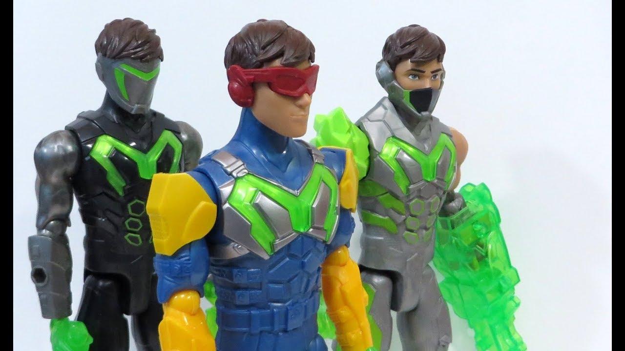f1d54f74f4 Super Heróis   Bonecos MAX STEEL 2017 Turbo Equipamentos - Dragon Toys