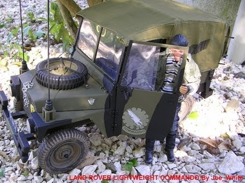 Land Rover Lightweight Commando Action Man RC - YouTube