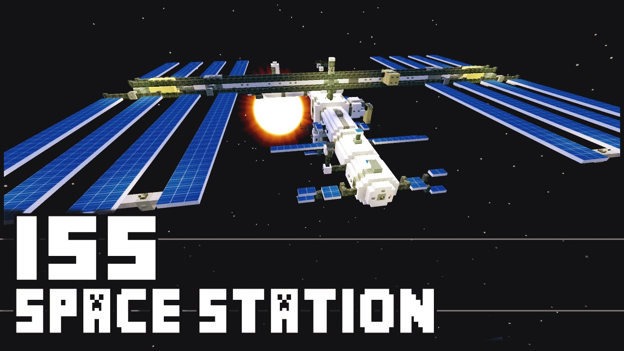Minecraft iss international space station youtube gumiabroncs Choice Image
