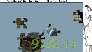 The Castle of Dr. Brain (Novice any%): 15:32