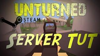 unturned server set up tutorial port forwarding simple