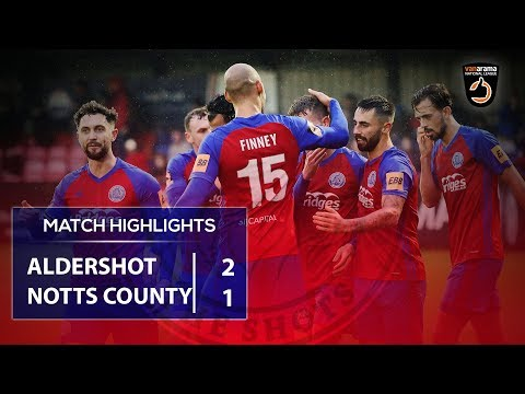 Match Highlights: Notts County (H)