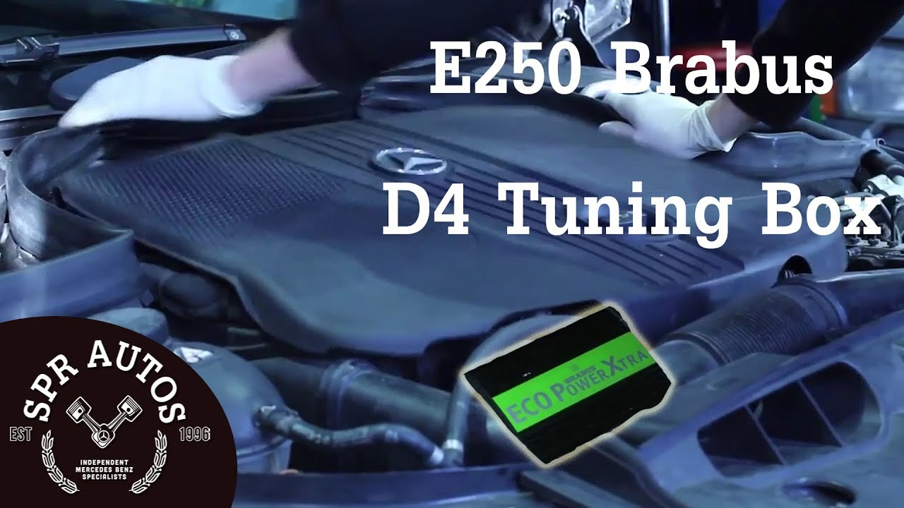 CHIP TUNING POWER BOX CHIP MERCEDES /> E 300 CDI 211 hp Bluetec Ecu Remap