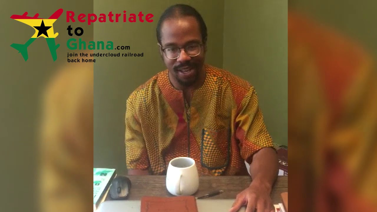 Sankɔfa Maat's Repatriate to Ghana Testimonial
