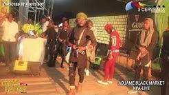 Nouvelle génération d'Adjame black market au clash des sapeurs Npa avril 2017