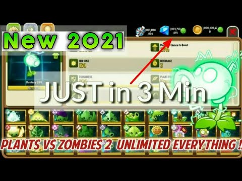 How To Hack Plants Vs Zombies 2 | Pvz2 Hack No Root | Unlimited Everything| Paid Plants |February