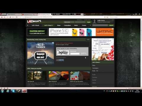 Как скачать и установить дополнительную карту в Left 4 Dead 2!