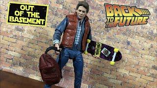 Neca Toys ULTIMATE MARTY MCFLY Back to the Future 35th Anniversary | Action Figure Review смотреть онлайн в хорошем качестве бесплатно - VIDEOOO