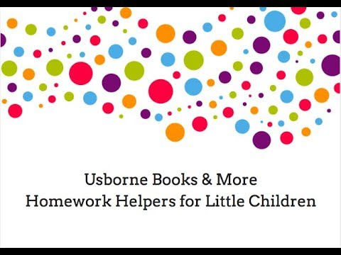 Getting Ready for School and Homework Helpers for Little Children