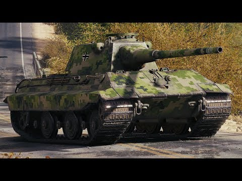 World of Tanks E50 Ausf. M - 10 Kills 9K Damage