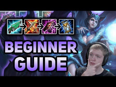 LEARN TO PLAY AHRI! BEGINNER GUIDE + BEGINNER BUILD FULL GAMEPLAY - Patch 7.13