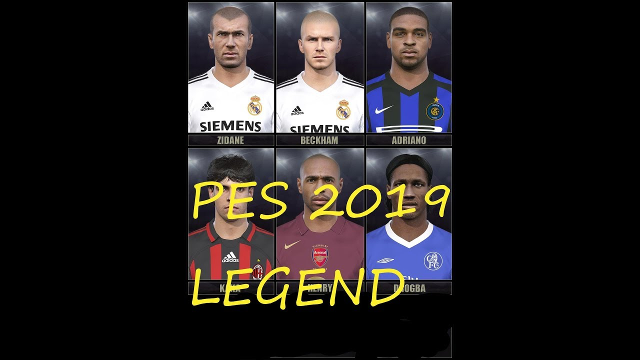 PES 2019 - LEGEND League OPTION FILE FOR PS4