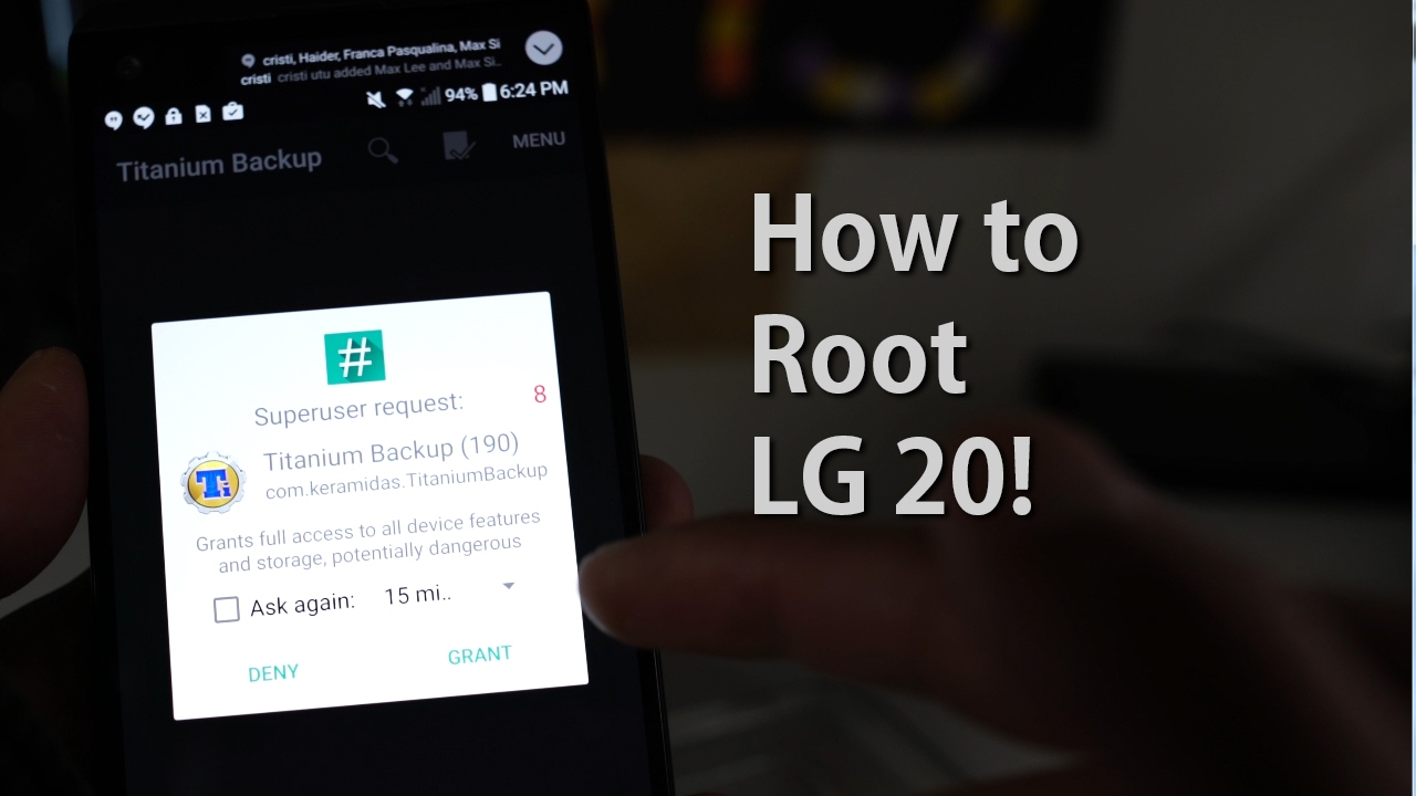 How to Root LG V20! [AT&T/Sprint/Verizon/Korean