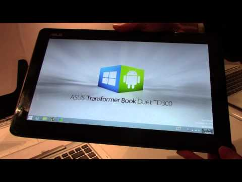 Hands on with the ASUS Transformer Book Duet TD300 at CES 2014