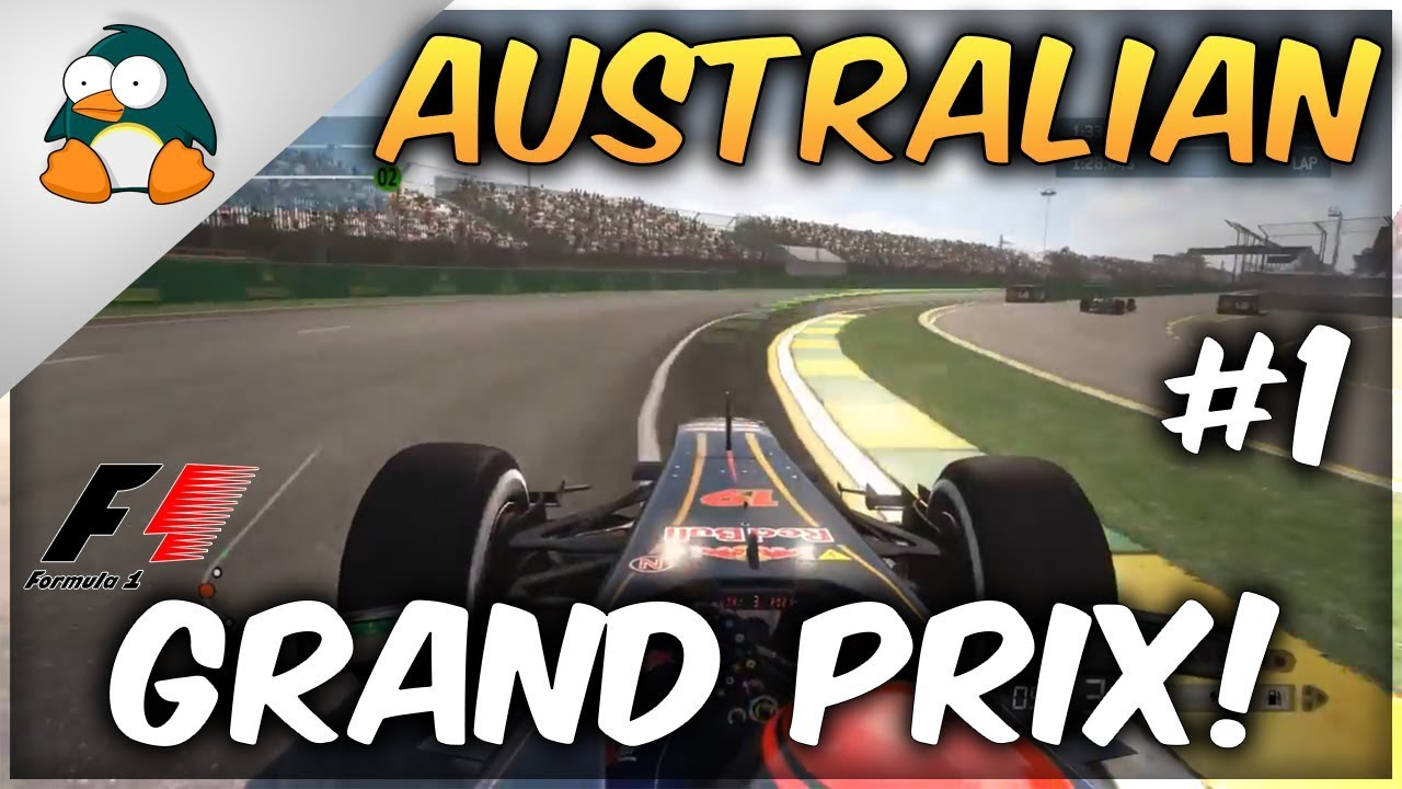 Race Sundays - F1 2013 - Race 1 - Australian Grand Prix