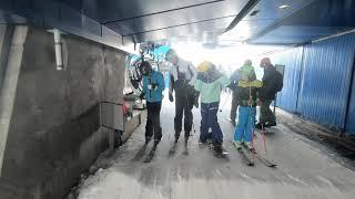 Катание на горных лыжах Кировск Хибины Апрель 2021