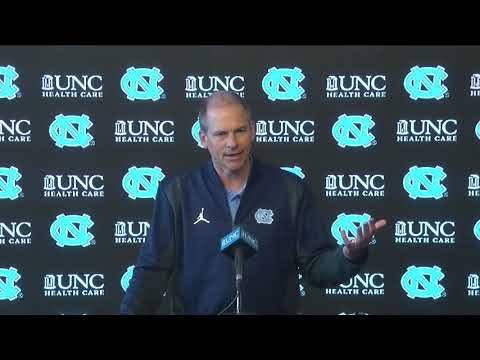 UNC Football: John Lilly Press Conference 022620