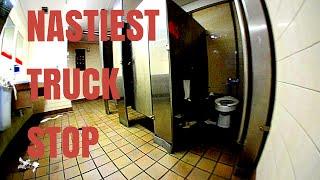 The Nastiest Truck Stop In America (Trucker Vlog Adventure #16)