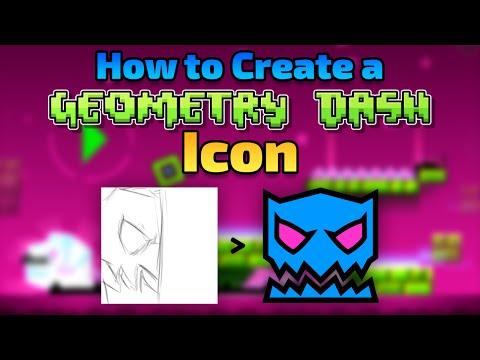 geometry dash how to create icons