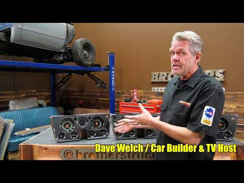 1967-72 Chevy & GMC Truck Complete Dash/Gauge Panel Overview