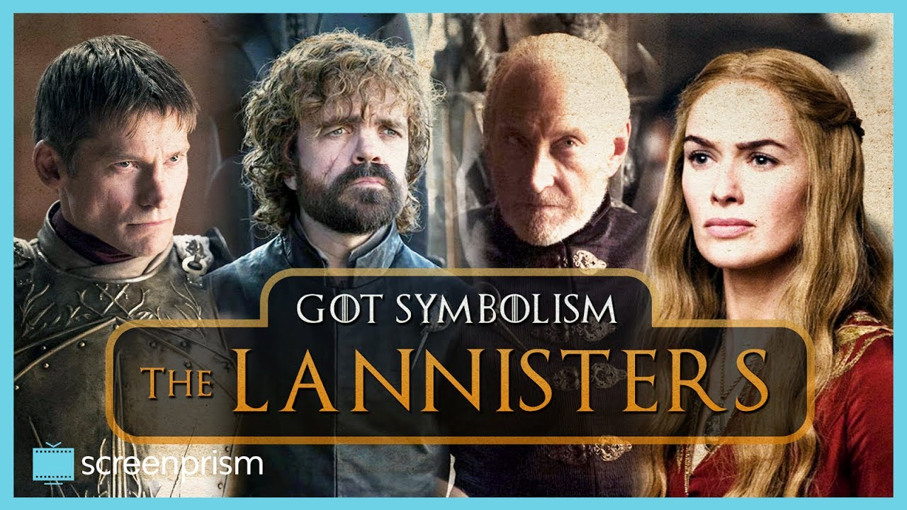 Game Of Thrones Symbolism The Lannisters Youtube