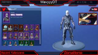 SELLING MY FORTNITE ACCOUNT [SKULL TROOPER] 25 SKINS, 14 Picks, 20 gliders.