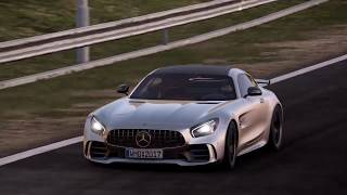 Project Cars 2 Mercedes AMG GTR Cruising in to Monaco GREAT SOUND