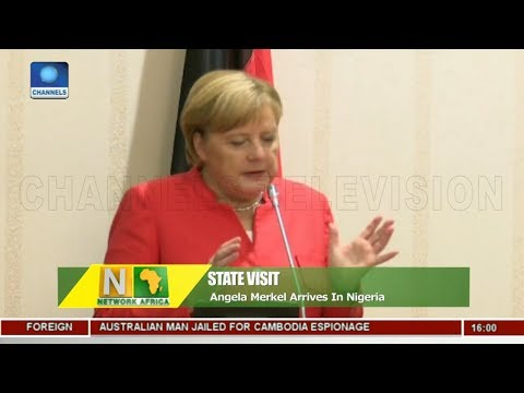 Angela Merkel Arrives In Nigeria, Discusses Trade With Buhari |Network Africa|
