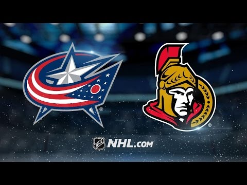 Senators edge Jackets in Ottawa, 3-2