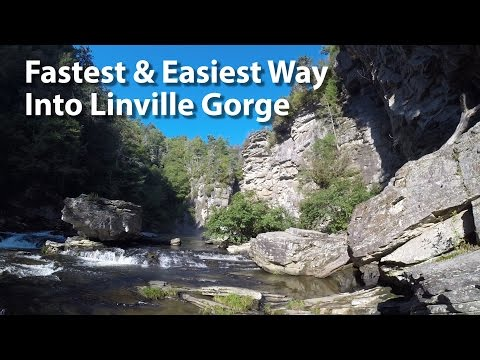 Easiest & Fastest Hike Into The Linville Gorge - Linville Falls - Introduction