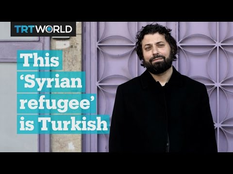 This 'Syrian refugee' is Turkish