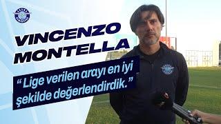 Vincenzo Montella: '' Lige verilen arayı en iyi şekilde değerlendirdik.''