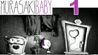 Murasaki Baby Let's Play Walkthrough 1 - Baby Wakes Up In A Weird World!